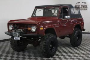1974 Ford Bronco 4X4. CUSTOM. 351 V8. MANY EXTRAS. MUST SEE