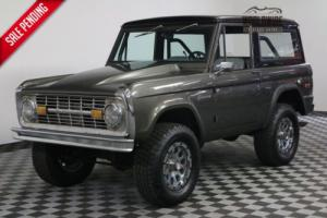 1975 Ford Bronco RESTORED CUSTOM AUTO HARD TOP