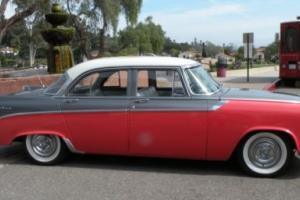 1956 Dodge Custom Royal D-500 4-door sedan