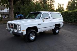 1987 GMC Jimmy GMC, Chevrolet, Blazer, Jimmy, Bronco, 4x4, Other Photo