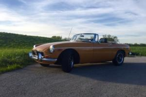 1973 MG MGB CHROME BUMPER MGB ROADSTER