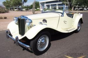 1952 MG T-Series TD