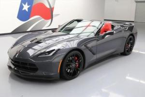 2014 Chevrolet Corvette STINGRAY Z51 2LT CONVERTIBLE NAV