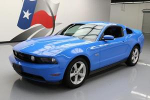 2012 Ford Mustang 5.0 GT PREMIUM 6-SPEED LEATHER