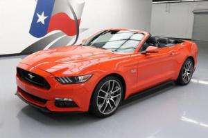 2015 Ford Mustang GT PREMIUM 5.0 CONVERTIBLE NAV