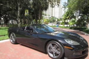 2008 Chevrolet Corvette Triple Black Convertible