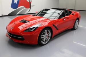 2015 Chevrolet Corvette STINGRAY 1LT ZF1 6-SPEED NAV