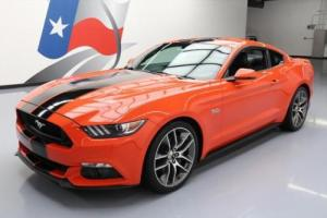 2016 Ford Mustang 5.0 GT PREM 6SPD LEATHER NAV 20'S