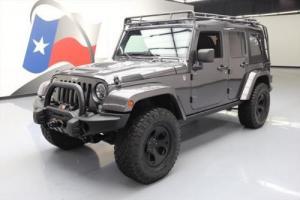 2014 Jeep Wrangler UNLTD RUBICON SOFT TOP 4X4 LIFT NAV!