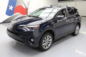 2017 Toyota RAV4 LIMITED HTD LEATHER SUNROOF NAV