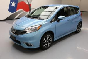 2015 Nissan Versa NOTE SR HATCHBACK AUTO ALLOYS