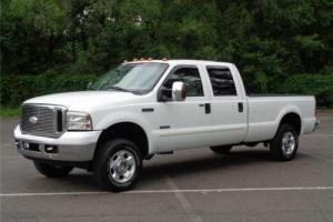 2006 Ford F-250 Lariat 4WD 4X4 CREW CAB LIFTED LONG BED COLD A/C!