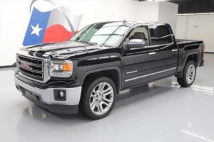 2014 GMC Sierra 1500 SIERRA SLT CREW LEATHER NAV REAR CAM 22'S