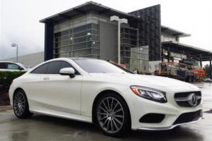 2016 Mercedes-Benz S-Class 2dr Coupe S 550 4MATIC