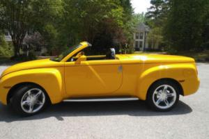 2004 Chevrolet SSR 2004 Chevy SSR LS Convertible Pickup 2D for Sale