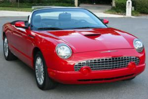 2002 Ford Thunderbird TWO OWNER - MINT - 17K MILES