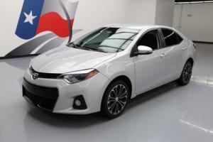 2014 Toyota Corolla S PLUS REAR CAM PADDLE SHIFT