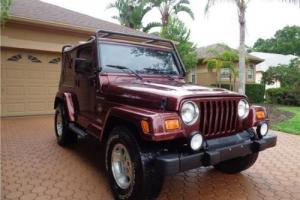2002 Jeep Wrangler Sahara4X4 6 CYL AUTOMATIC FL OWNED CLEAN CARFAX