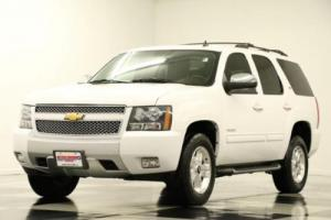 2014 Chevrolet Tahoe 4WD LT Sunroof DVD Leather White 4X4
