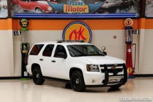 2012 Chevrolet Police Tahoe