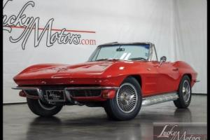 1964 Chevrolet Corvette Sting Ray Convertible Numbers Matching!