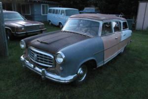 1955 Hudson Rambler Cross Country Wagon