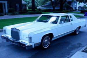 1979 Lincoln Town Car COUPE - TWO OWNER - 49K MI Photo