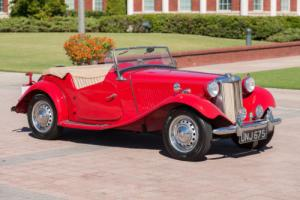 1951 MG T-Series -- Photo