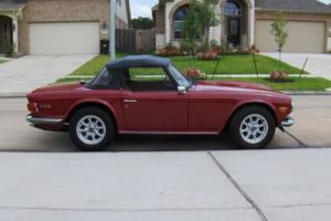 1972 Triumph TR-6 Photo