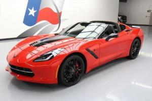 2015 Chevrolet Corvette STINGRAY Z51 3LT 7-SPD NAV HUD