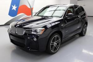2016 BMW X3 XDRIVE35I AWD M-SPORT PANO ROOF NAV HUD
