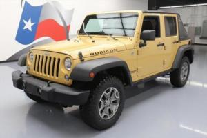 2014 Jeep Wrangler RUBICON 4X4 6-SPD SLANT BACK NAV