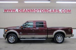 2011 Ford F-250 KING RANCH 6.4L DIESEL 4X4 NAVIGATION SUNROOF