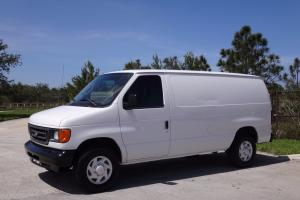 2007 Ford E-Series Van Cargo Van