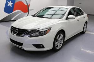 2017 Nissan Altima 3.5 SL HTD LEATHER SUNROOF NAV