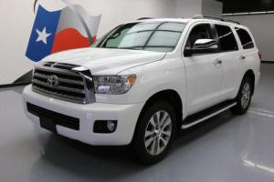 2014 Toyota Sequoia LIMITED 4X4 SUNROOF NAV 20'S