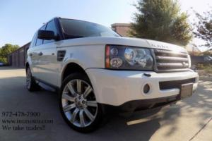 2008 Land Rover Range Rover Sport **Super Charged** Photo