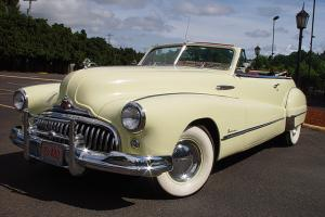 1948 Buick Super Convertible Straight 8 w/ 3 spd manual Frame off restored Photo
