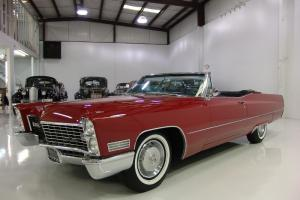 1967 CADILLAC DEVILLE CONVERTIBLE 429CI FACTORY A/C ONLY 41,269 MILES! STUNNING!