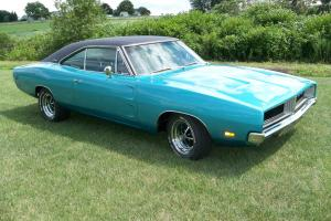 1969 Dodge Charger RT 440 4 speed