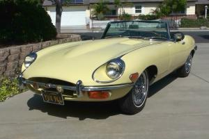 Jaguar: 1969 E-Type roadster, 25,106 orig. miles