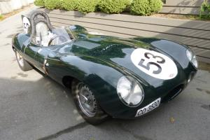 Jaguar D-Type Replica Photo