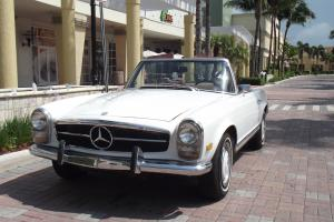 1969 MERCEDES BENZ 280 SL. SECOND OWNER CAR. ALWAYS SERVICED. EXCELLENT CAR!!!