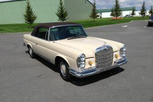 1969 Mercedes Benz 280SE Cabriolet - Fully Restored - Tan/Brown Interior