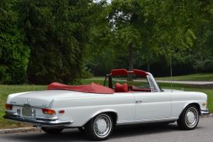 Stunning - Restored - 1971 White Mercedes Benz Convertible 280SE 3.5