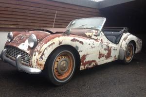 Triumph TR3 1959 LHD - Restoration Project