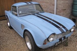 TRIUMPH TR4 1963 OVERDRIVE MODEL LOVELY EXAMPLE