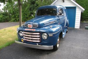 1949 Canadian Mercury Panel truck