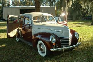 1939 Mercury Deluxe Sedan - Suicide Doors - Low Miles - All Original