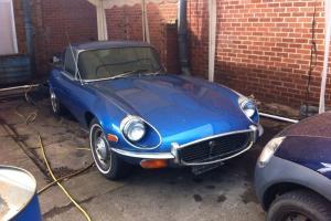 Jaguar e type V12 2 2 FHC 1971 LHD